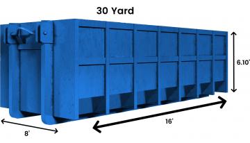 30 yard logo