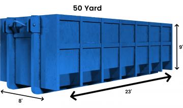 50 yard logo